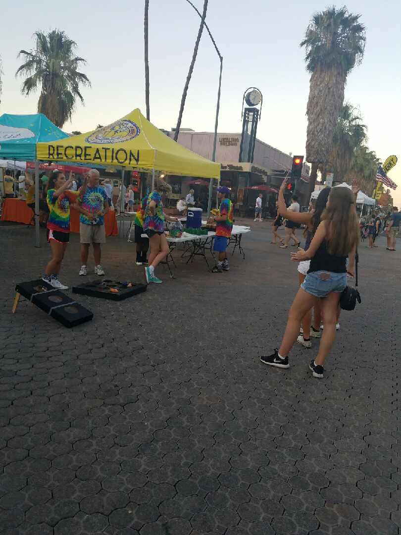 Recreation staff fun